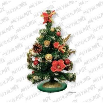 Albero Natale addobbato H40 cm